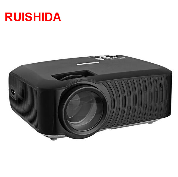 LED Video Projector 1G 8G Wifi Bluetooth 1280x720 Support 1080P Multimedia Player for Home(China (Mainland))