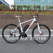 "Free shipping 48V 750W 29"" Road E-bike for Mid-Drive Motor+9-speed+48V 12Ah Li-ion Battery+LCD Display(China (Mainland))"