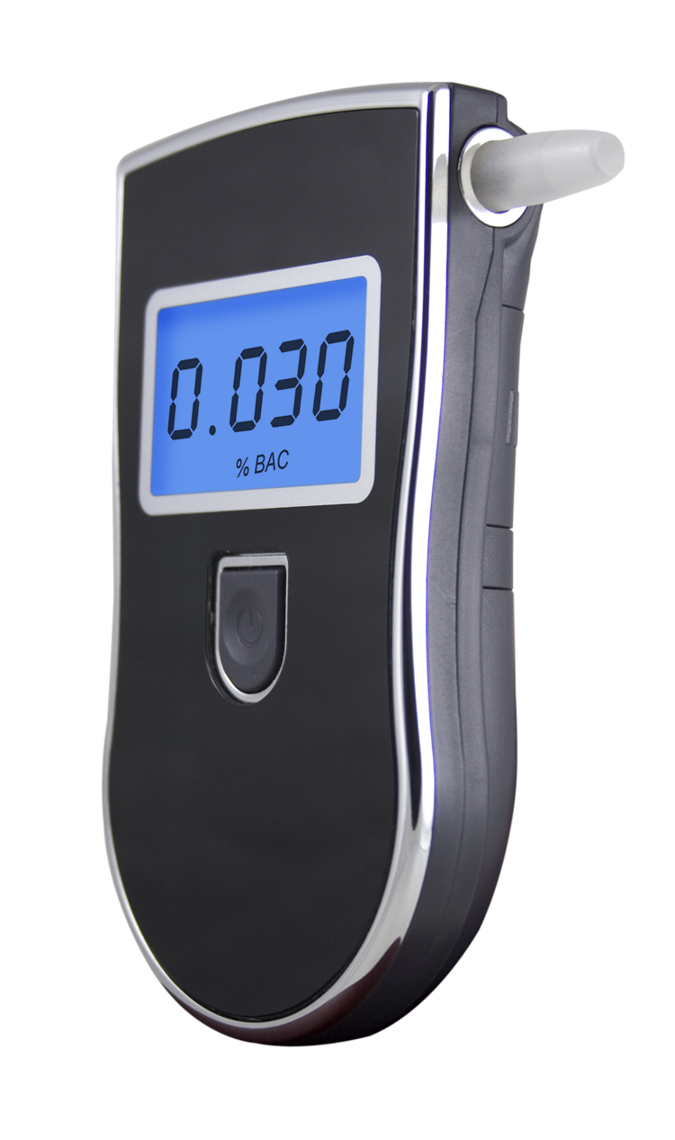 Patent Professional Digital Breath Alcohol Tester with 3 digital LCD display Blue Backlight 5pcs Mouthpieces(China (Mainland))