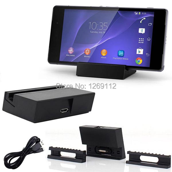 Magnetic Charging Dock Station for Sony Xperia Z3 Compact D5833 L55T L55U M55W DK48C ,Free Shipping 9ndv(China (Mainland))
