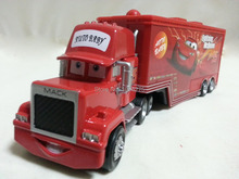 Pixar Cars No.95 Mack Racer's Truck Metal Diecast Toy Car 1:55 Loose Brand New In Stock & Free Shipping(China (Mainland))