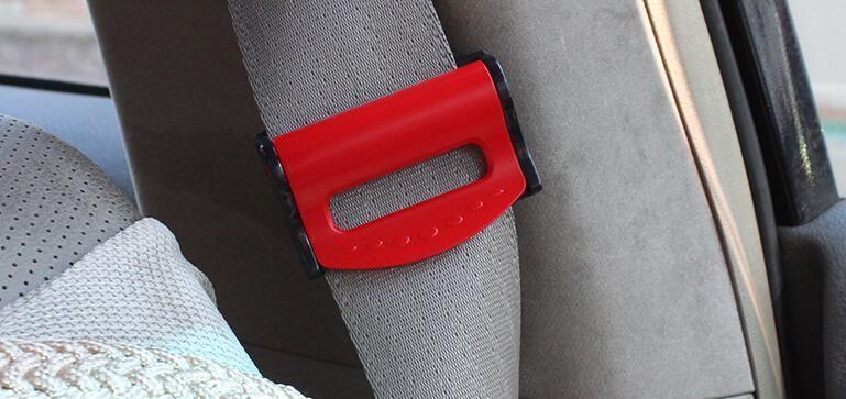 2pcs set lot car seat belts clips safety adjustable stopper buckle plastic clip tension adjuster. Black Bedroom Furniture Sets. Home Design Ideas