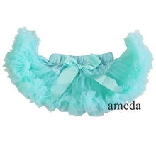 Newborn Baby Girl Mint Pettiskirt Tutu 0-6M(Hong Kong)
