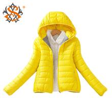 8-color обновление издание 2014 супер теплая зима парка пальто дамы женщин тонкий короткие мягкий женщин sammy548