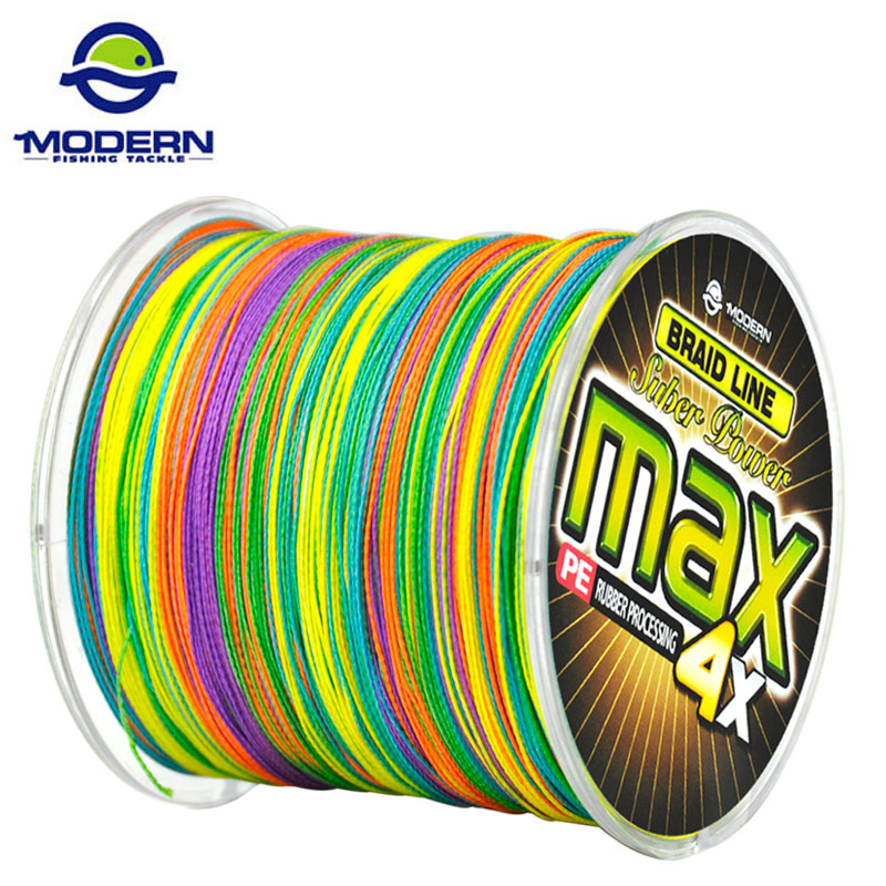 500m modern fishing brand max series multicolor 1m 1color for Colored fishing line