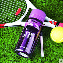 2016 New fashion sport style super large plastic bottle with creative design taking care of your health and life