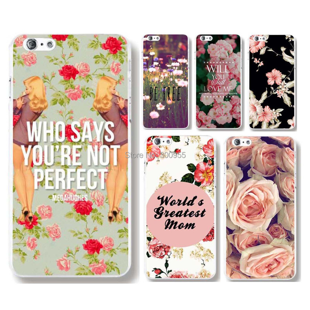 "Free Shipping Case Covers For iPhone 6 4.7"" New Arrival Gorgeous Flower Painted Printed CaseWHD1122 21-40"