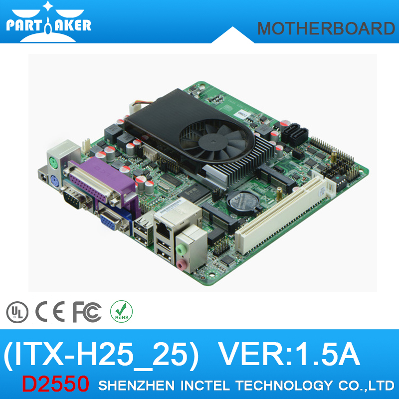 ITX-H25_25 VER:1.5A d2550 LVDS Mini ITX Motherboard(China (Mainland))