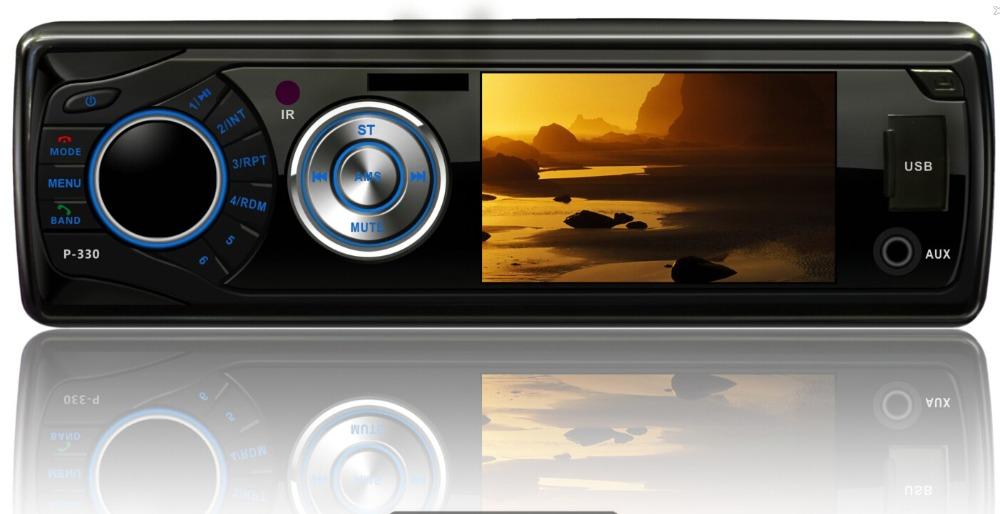 "3"" Digital one din Car DVD Player stereo detachable single din car radio camera input 16:9 wide screen usb/sd/bluetooth/mp3/mp4(China (Mainland))"