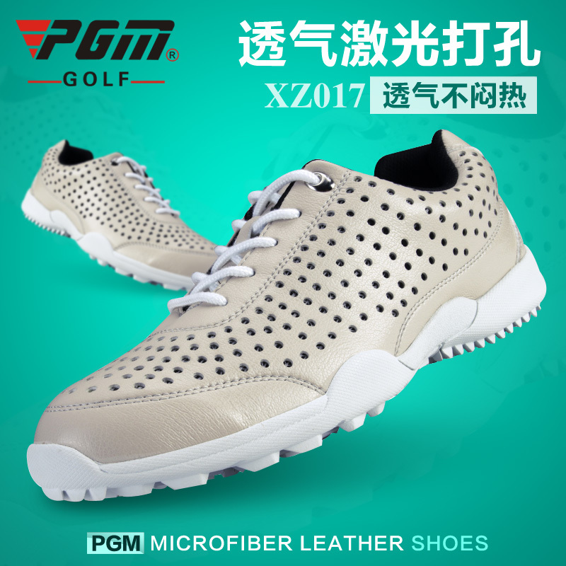 Sneakers men golf shoes super Breathable waterproof hole shoes XZ017 Free Shipping(China (Mainland))