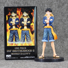 """Buy 7"""" 17cm Japan Anime One Piece New World Monkey D Luffy Assembling Jeans PVC Action Figure Collection Model Toys Doll Kids for $8.68 in AliExpress store"""