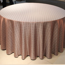 Table cloth wholesale, european-style hotel tablecloths, wedding round table cloth, restaurant table cloth, can be customized(China (Mainland))