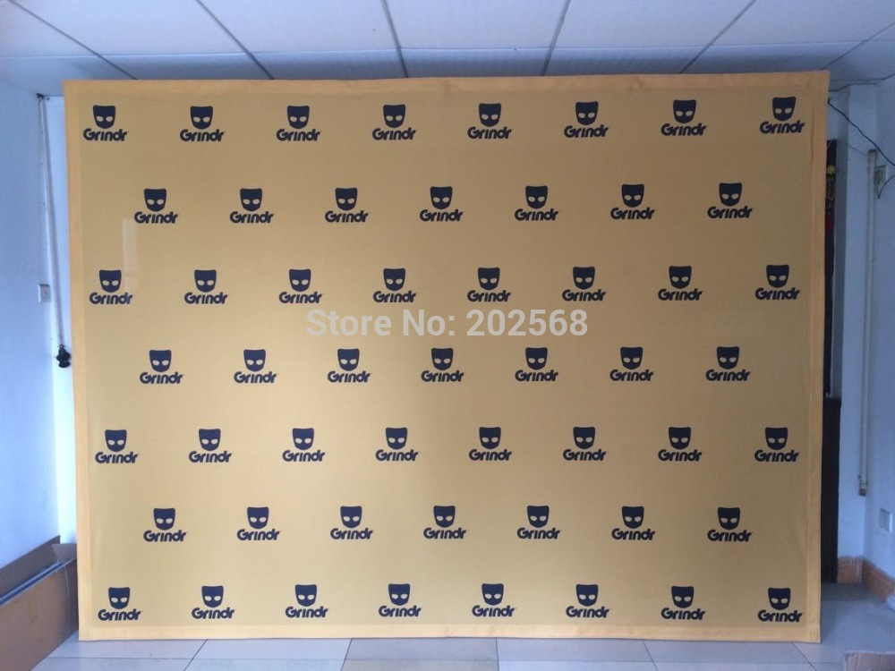 Free Shipping!10ft TENSION FABRIC VELCRO POP UP DISPLAY(China (Mainland))