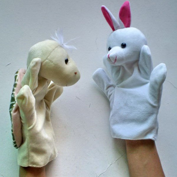 HOT ! Lovely hand puppets /finger toy/high quality finger doll FREE SHIPPING
