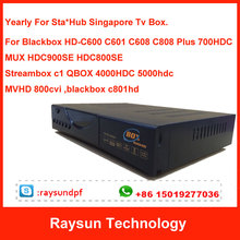 Buy Renew Yearly Blackbox C600 C601 C608 C808 c801hd 900SE 800SE C1 QBOX 4000hdc 5000hdc Singapore Cable TV Box watch euro 2016 for $41.09 in AliExpress store