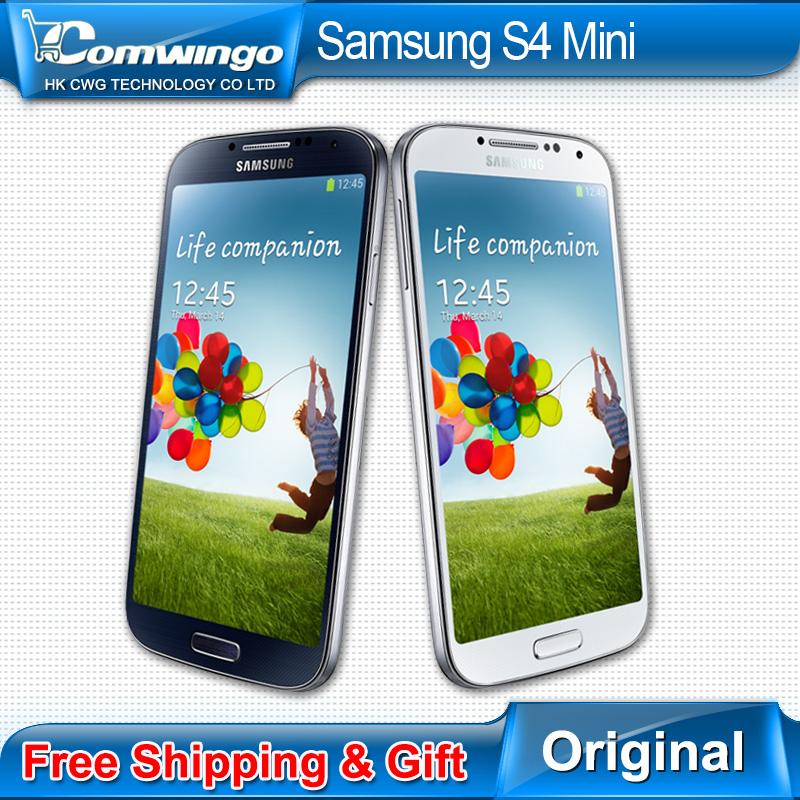 Мини-кейс первоначально открынный Samsung Galaxy S4 мини 16 г ROM 4.3 'HD двухъядерный CPU-1.7GHz андроид 4.2 3 г wi-fi i9195 i9190 i9192