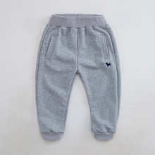 Casual Boy's Kids Pants New 2015 Spring Autumn Kids emoji joggers Trousers Children's Tops Quality Clothing For 2-7T EP009(China (Mainland))