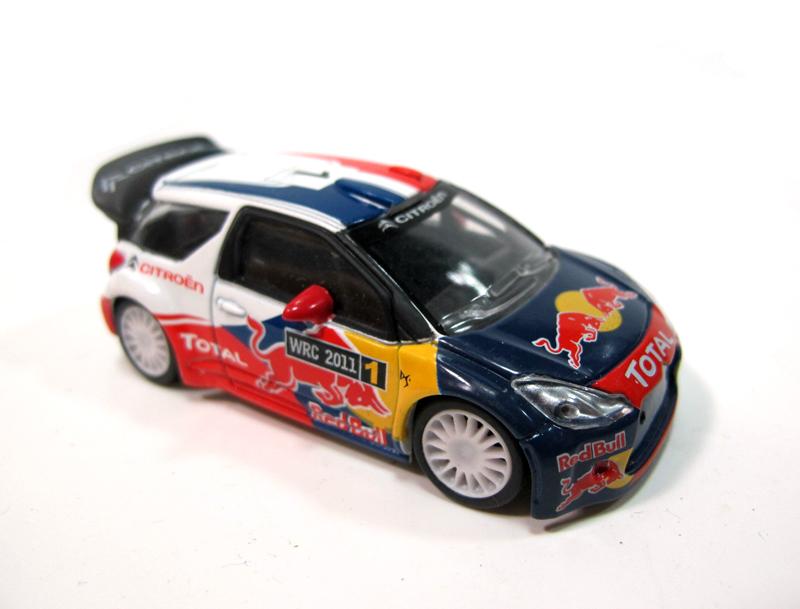 NOREV CITROEN DS3 WRC Citroen 1:64 alloy automobile mannequin Pink Bull Racing vary