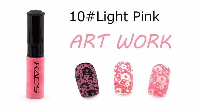 KADS Stamp Polish 1 Bottle/LOT Nail Polish & Stamp Polish Nail Art 21 Color Optional Stamping Nail Lacquer for Nail Art