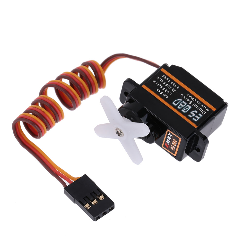 Original EMAX ES08D Servos Plastic Digital Micro Servo for RC Helicopter Airplane RC Accessories High Quality(China (Mainland))