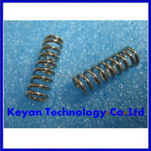 10pcs/lot 3 D 3D printer accessory feeder spring for Ultimaker Makerbot Wade extruder nickel plating 1.2mm 20 mm top quality