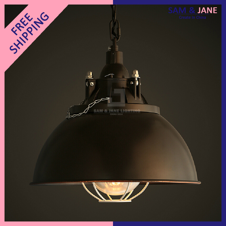 Aliexpress Buy 12 E27 Black Vintage Pendant Light