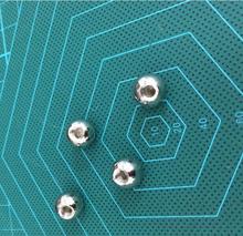 3d printer parts Reprap Delta Kossel k800 drilling trimming ball stainless steel ball thread ball
