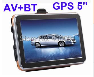GPS-навигатор 5/GPS av bluetooth FM/4 /DDR128M GPS