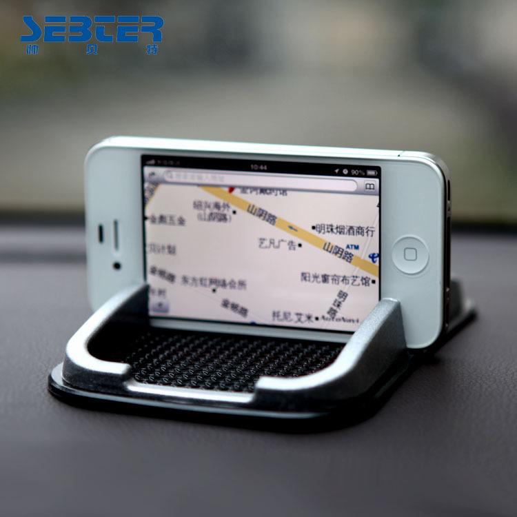 Free shipping Car phone holder car mobile phone holder car navigation holder for iphone 5 iphone 4s Sam i9500 Google nexus 7(China (Mainland))