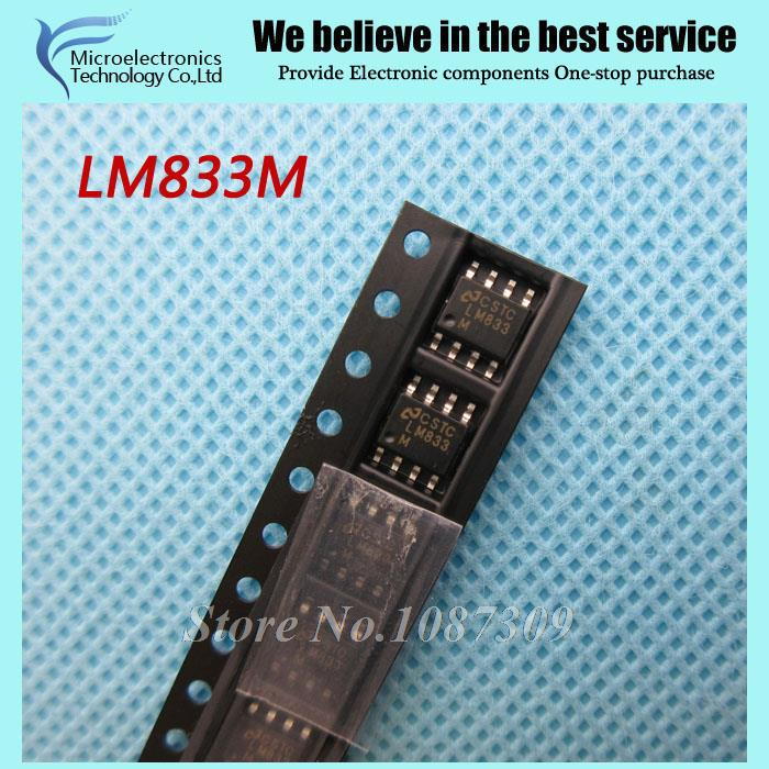 20pcs free shipping LM833M LM833 SOP-8 Audio Amplifiers Dual Audio Operational Amplifier 8-SOIC -40 to 85 new original(China (Mainland))