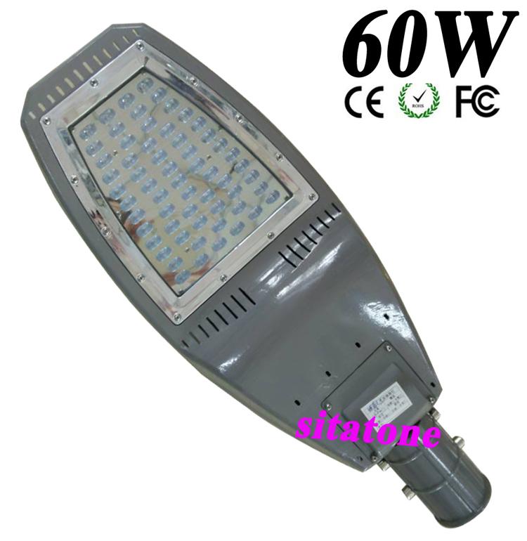 10pcs free shipping Adjustable angle 24V or AC85-265V IP65 60W led street light 130LM/W LED led street light 3 year warranty(China (Mainland))
