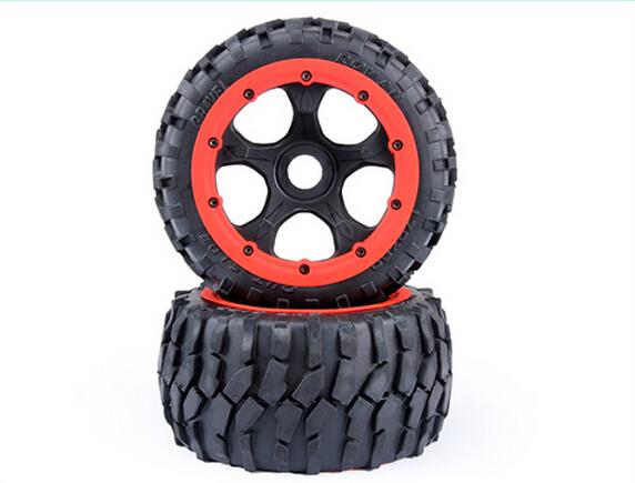 1/5 rc car gas 5B 4 Generation gravel tire rear wheel assembly Kit fit hpi baja 5b Rovan KM