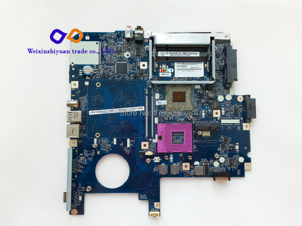 For Acer 5520 Laptop Motherboard MBALD02001 Mother board ICL50 LA-3551P 100% Tested(China (Mainland))