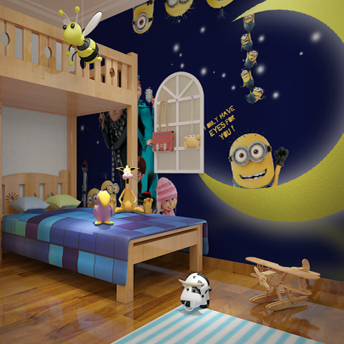 cartoon bedroom background boys buy free shipping
