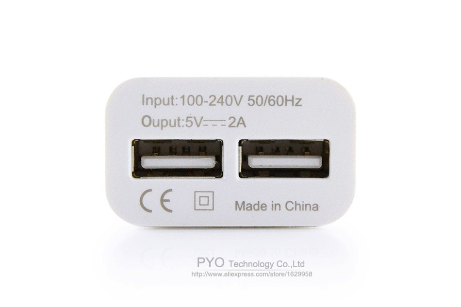 3PYO EU iPhone Charger 5V 2A
