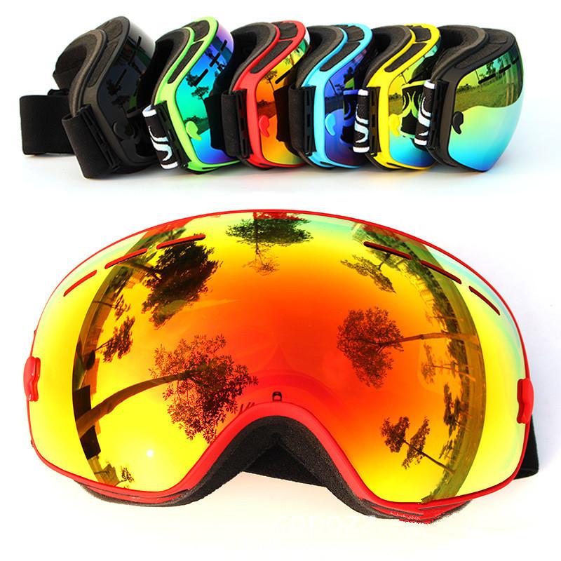 1Pc New COPOZZ Brand Ski Goggles Double UV400 Anti-fog Big Ski Mask Glasses Skiing Men Women Snow Snowboard Goggles(China (Mainland))