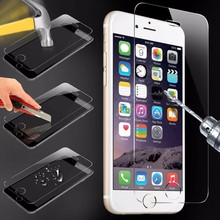 Tempered Glass Screen Protector for iPhone 6 6S Plus 6Plus Explosion Proof HD Clear No Fingerprint Anti-glare Film