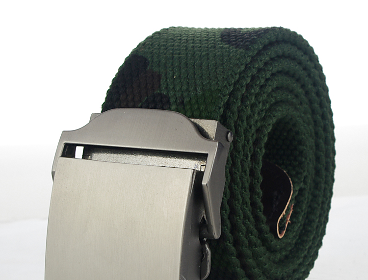 HTB1C3a4PVXXXXXAapXXq6xXFXXXU - Hot male tactical belt Top quality 4 mm thick 3.8 cm wide canvas belt For men NO5 Automatic buckle Man extended 160 cm belts