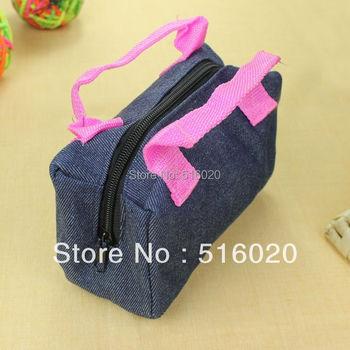 Cute jeans canvas toddler cloth Jean Messenger Cross Baby School pouch Handbags bags Child Gift for children women girls men