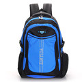 Sport Casual Breathable Waterproof Backpack Fashion Contrast Color Men And Women School Bag Multi layered Zipper