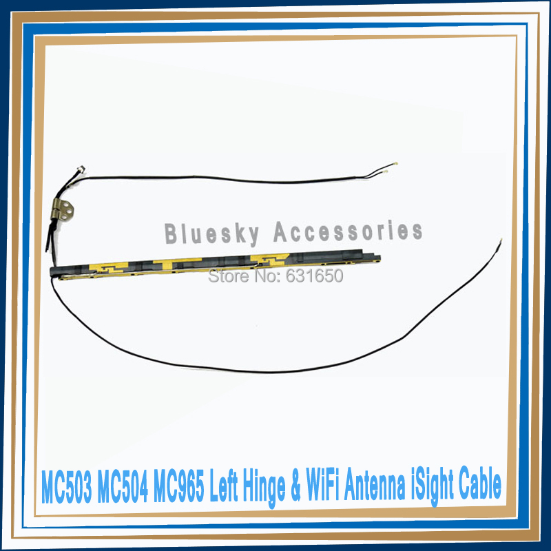 "NEW Left Hinge & WiFi Antenna iSight Cable For MacBook Air 13"" A1369 MC503 MC504 MC965 MC966 2010 2011(China (Mainland))"