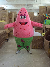 Patrick Star spngebob mascot costume halloween costumes party costume dinosaurs fancy dress christmas gift