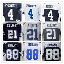 SexeMara Cheap men's jersey,Elite 4 Prescott 21 Elliott 9 Romo 22 Smith 50 Lee 82 Witten 88 Bryant jersey,Size M-XXXL(China (Mainland))