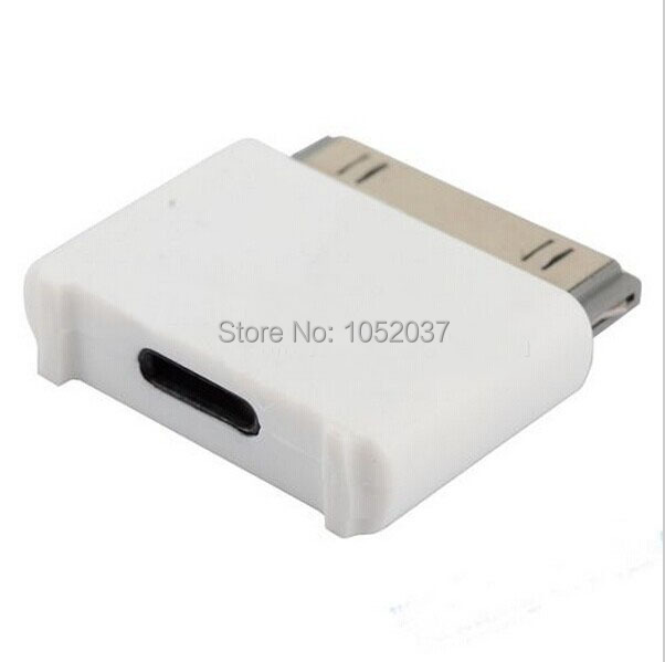 1pcs 30pin Male to 8pin Female Connector Dock Charger Adapter Converter For Apple iPhone 4 4S IPAD 2 3 iPod to iphone 6 5 dock