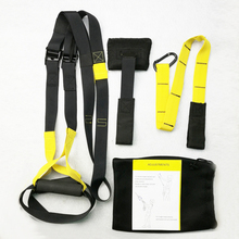 Buy hanging strap Resistance Bands Crossfit Sport Equipment Strength Training Fitness Equipment Spring Exerciser Workout Suspension for $24.99 in AliExpress store