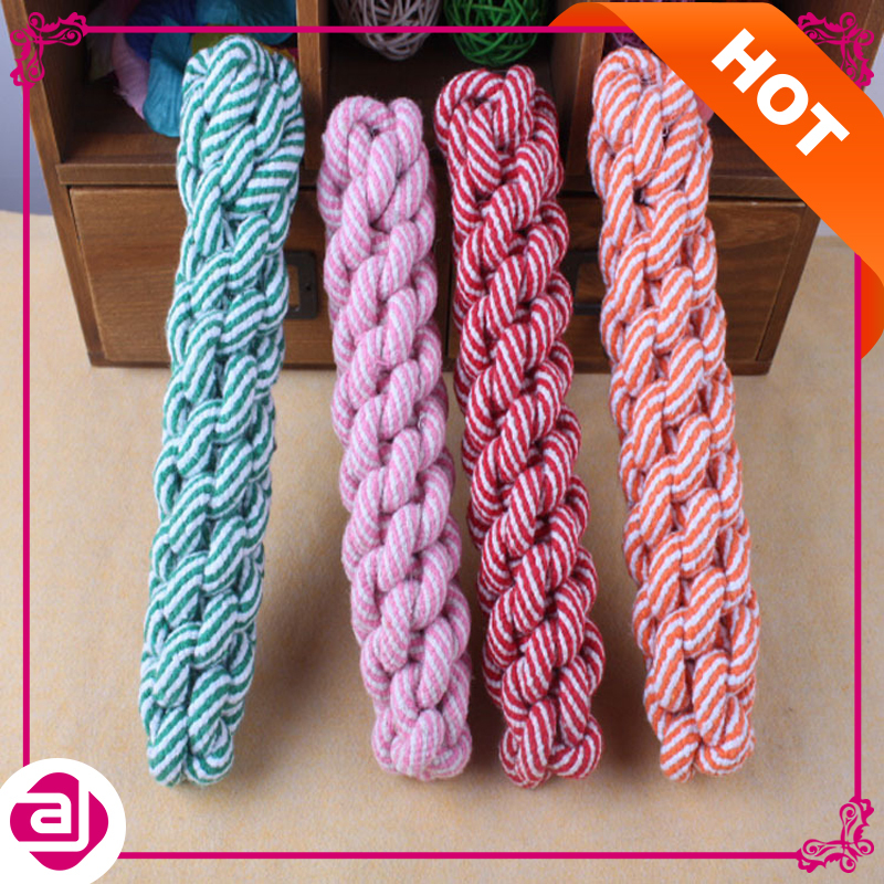Hot Sale Cachorro Chew Toys Pet dogs molar knot rope toys clean teeth large Bit stick cotton rope twist knot Corn cob(China (Mainland))