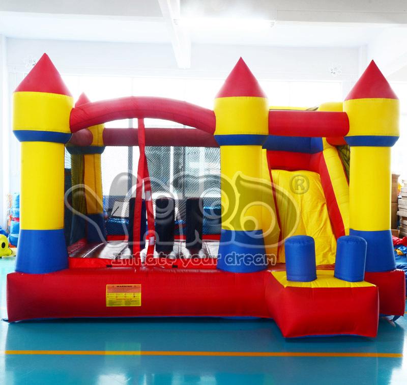 YARD Bounce house inflatable bouncy castle combo slide jump moonwalk inflatable castle(China (Mainland))