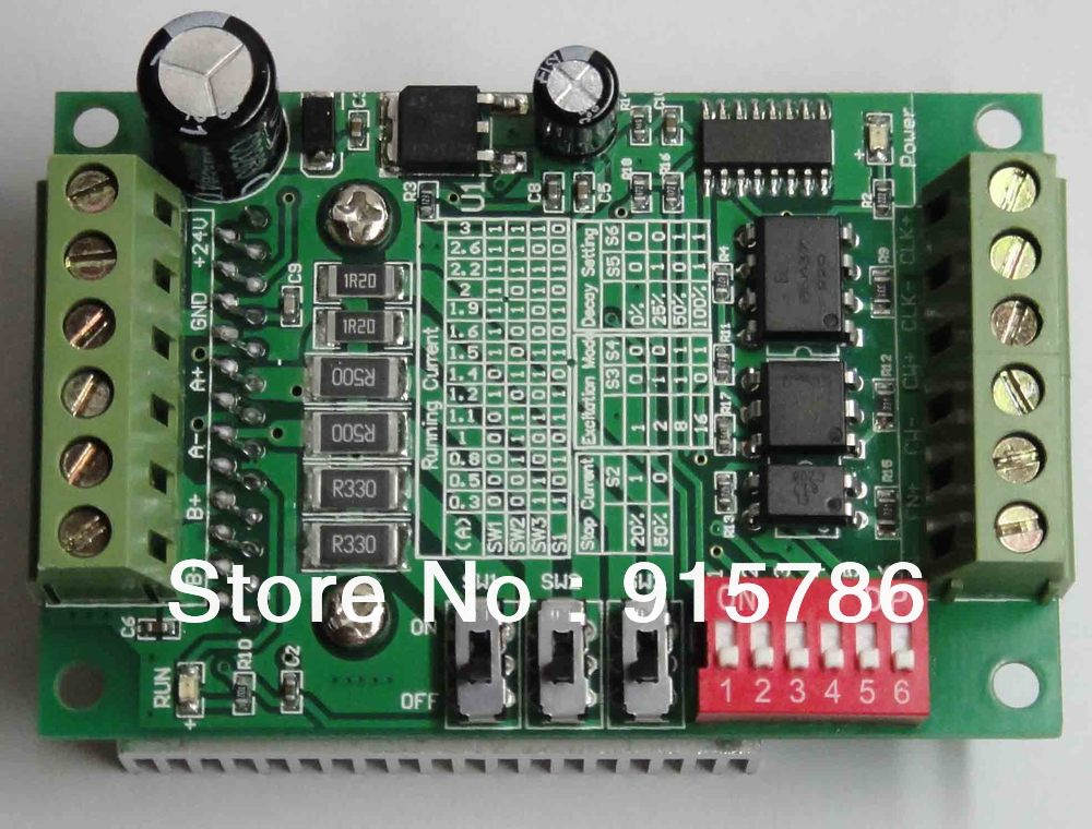Tb6560 3a Stepper Motor Drive Single Axis Stepper Motor