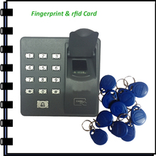 Nouvelle arrivée empreintes digitales et RFID système de contrôle d'accès X6 ZK porte contrôleur de gestion de sécurité serrure de porte de garage(China (Mainland))