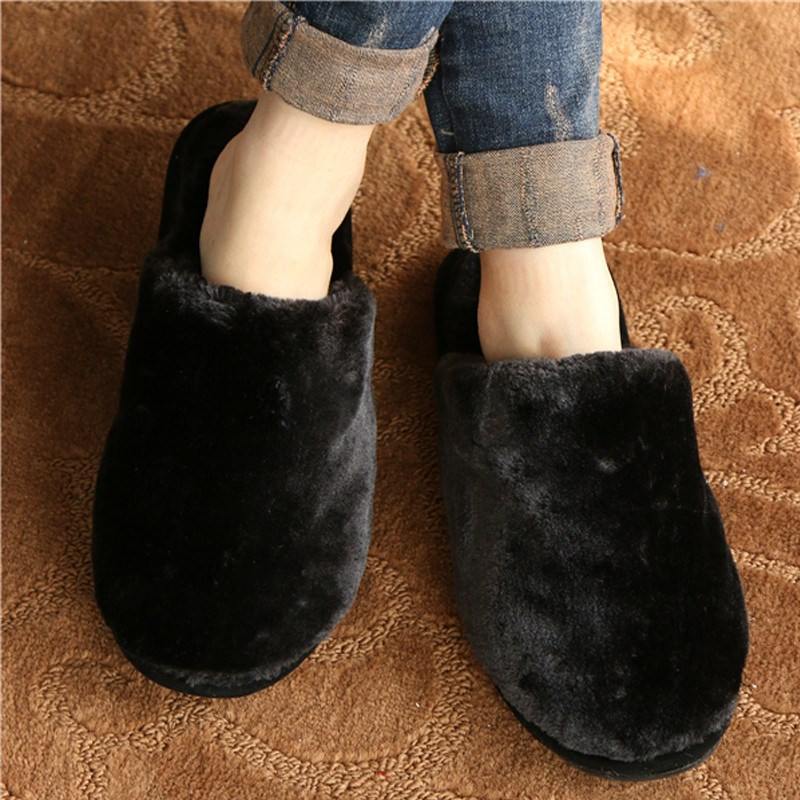 High Quality Lover Indoor Slippers Women Men Fashion Round Toe Winter Woman Man Warm Shoes Home Floor Non-Slip Slipper Pantufas<br><br>Aliexpress